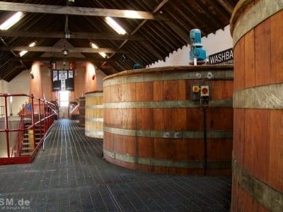 Glengyle - Blick durchs Produktionsgebäude