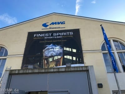 Finest Spirits 2018 - Eingang