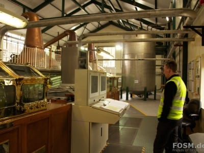 Ardmore Distillery Still House mit Alistair Longwell