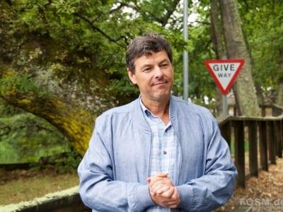 Glenmorangie - Dr Bill Lumsden am Staubecken
