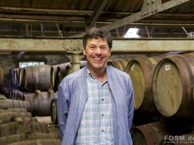 Glenmorangie - Dr Bill Lumsden im Lagerhaus