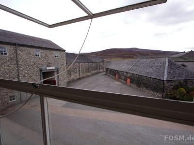 Glenfarclas Mash House - Blick in den Hof