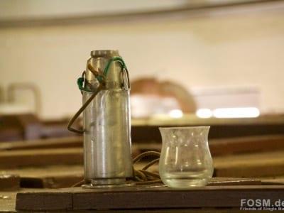 Bruichladdich - Schöpfkanne auf dem Washback