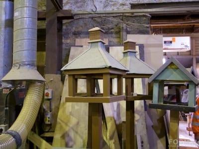 Brown's Vats - Vogelhäuser