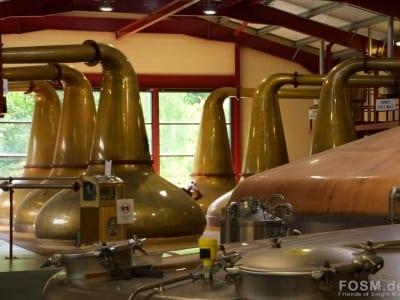 Glenburgie - Blick durch die Produktionshalle