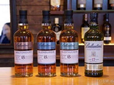 Glenburgie - die vier Ballantine's