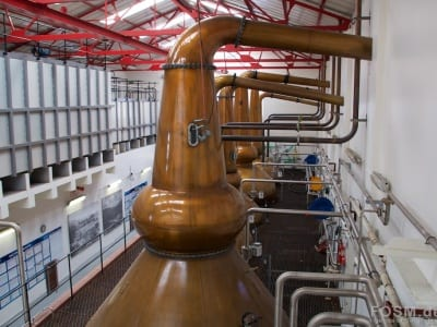 Mortlach Distillery - Stills Rückseite