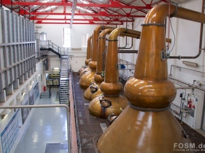Mortlach Distillery - Stillhouse