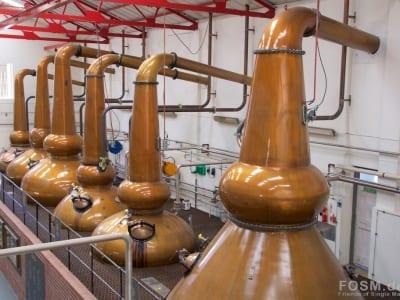 Mortlach Distillery - Stills Vorderseite