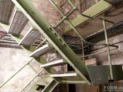 Dailuaine - Treppe zum Malting Floor