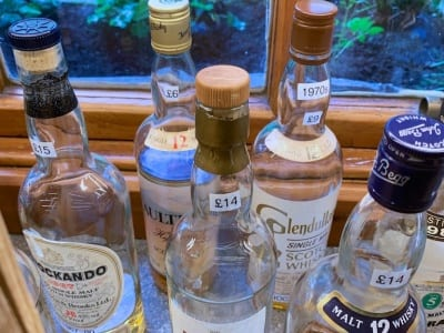 Dornoch - alte Whiskys