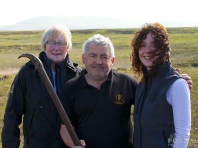 Marjory, Iain und Hazel