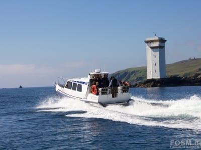 Unser zweites Schnellboot mit Ramsay
