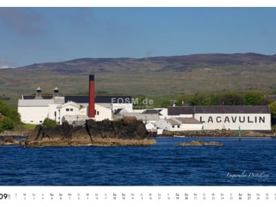 Kalender 2015: September - Lagavulin