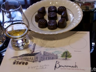 Benromach Tasting