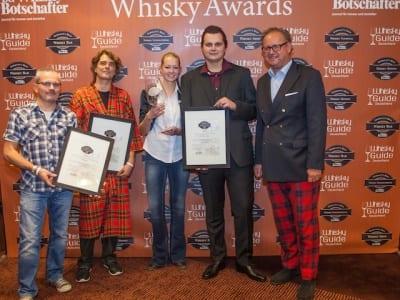Die Gewinner der Kategorie Bar der Germany's Best Whisky Awards 2014
