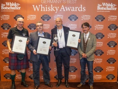 Die Gewinner der Kategorie Shop der Germany's Best Whisky Awards 2014