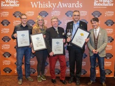 Die Gewinner der Kategorie Brennereien National der Germany's Best Whisky Awards 2014