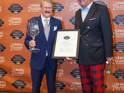 Der Gewinner der Kategorie Motion der Germany's Best Whisky Awards 2014