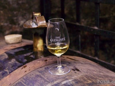 The Glenlivet - Dram im Warehouse