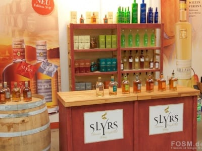 Slyrs Stand
