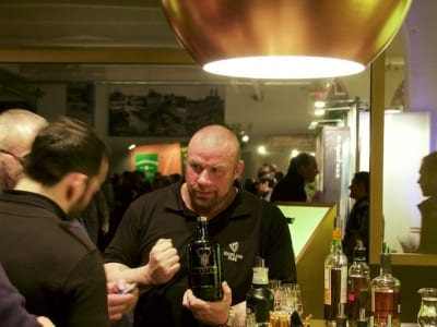 Odin in der BeamSuntory Lounge