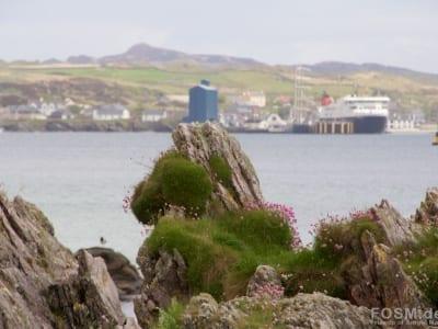 Blick auf Port Ellen