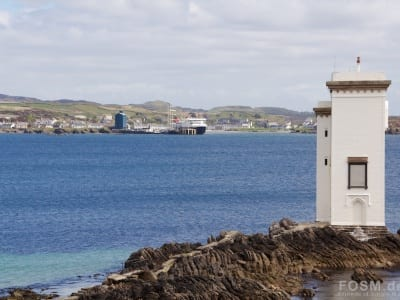 Port Ellen Lighthouse bei Carraig Fhada