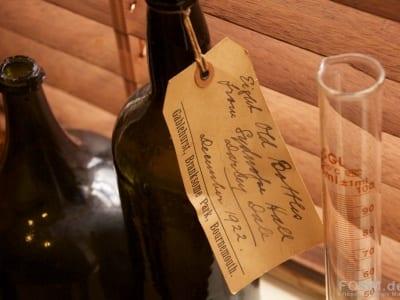 Alte Whiskyflaschen
